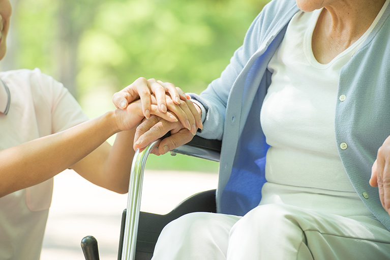 高齢者の方の治療について